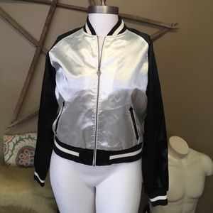 vintage luella target gocollection baseball jacket